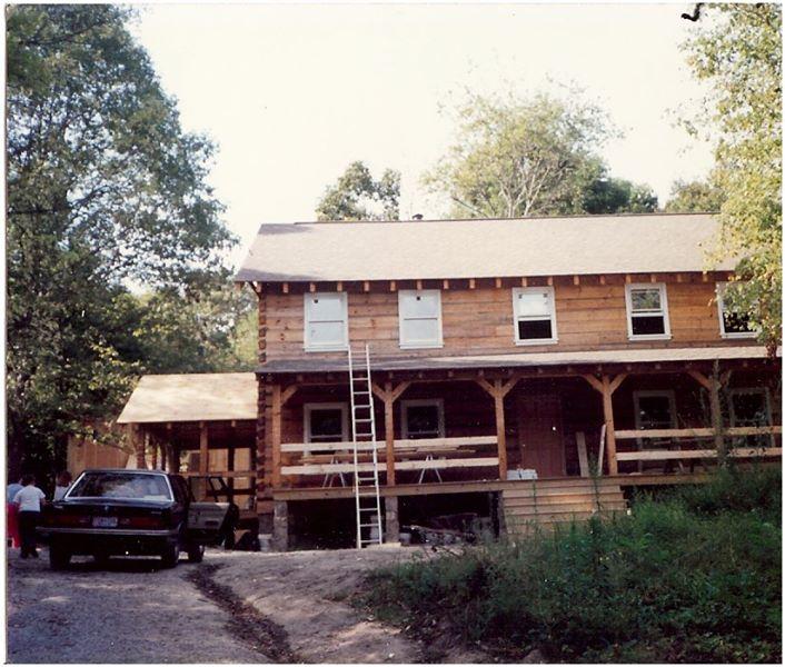 My First Log Home